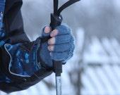 NEW ITEM Open finger gloves for children