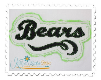 Bears - Distressed Applique