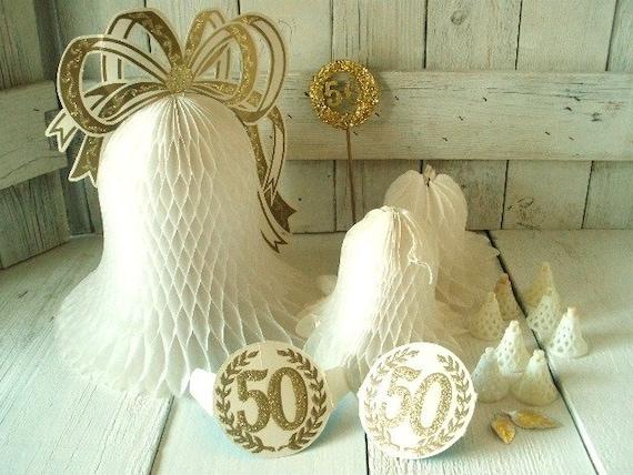 Vintage centerpieces paper decorations th wedding