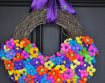 Fiesta Wreath Resurrection