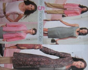 McCall's Pattern M4314 Misses'/Miss Petite Jacket, Top, Dress And Pants    2003   Uncut