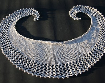 Shawl, wrap, cowl knitting pattern
