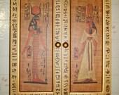 RESERVED FOR  iiesha d. - Egyptian Hieroglyphics Desktop Cabinet