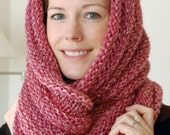 Loop Scarf to Knit PDF Pattern Instant Download