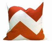 Schumacher High Voltage pillow cover in Berry and Spice