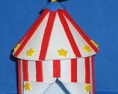 Foam Big Top Circus Tent Cake Topper