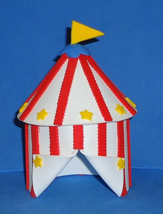 Like this item? & Foam Big Top Circus Tent Cake Topper