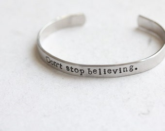 """Journey """"Don't Stop Believing"""" Cuff"""