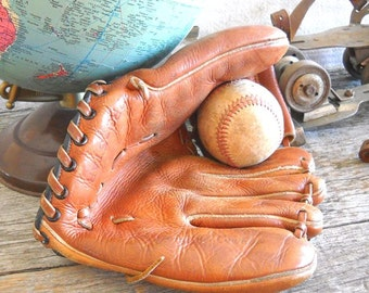 Vintage Pro Star Leather Baseball Glove - GC Co Sporting Goods