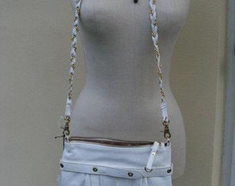 Vintage New-Genuine Leather Bag by Sabina of New York