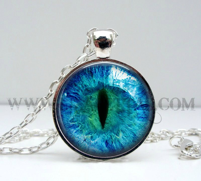 cat eye necklace gifts for cat cat i by lizabettas