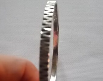 Vintage Silver Hallmarked Bangle Bracelet
