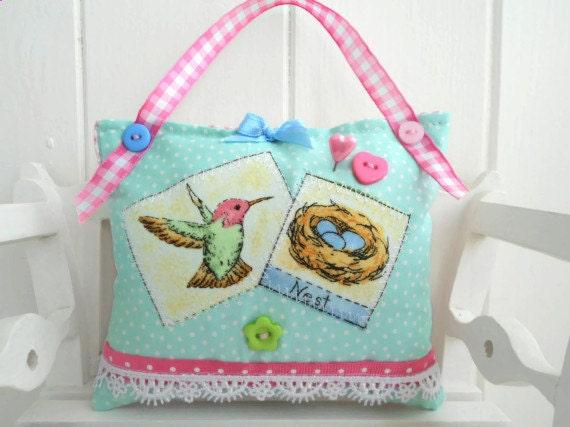 SALE  Spring themed pincushion