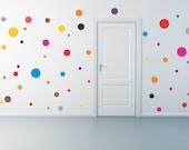 50 Polka Dot wall decals
