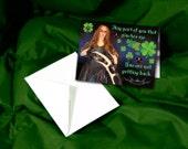 Klingon Assassin's St. Patrick's Day Card