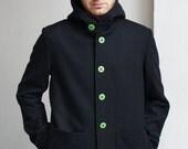 Jack The Storm . Woolen mens jacket.