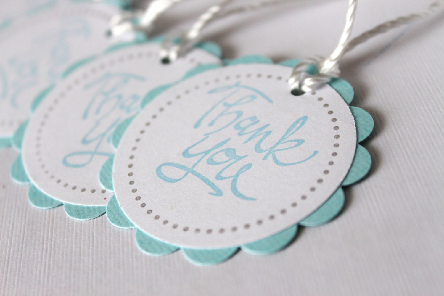 baby shower favor tags thank you tags lt blue by wildbeanlore