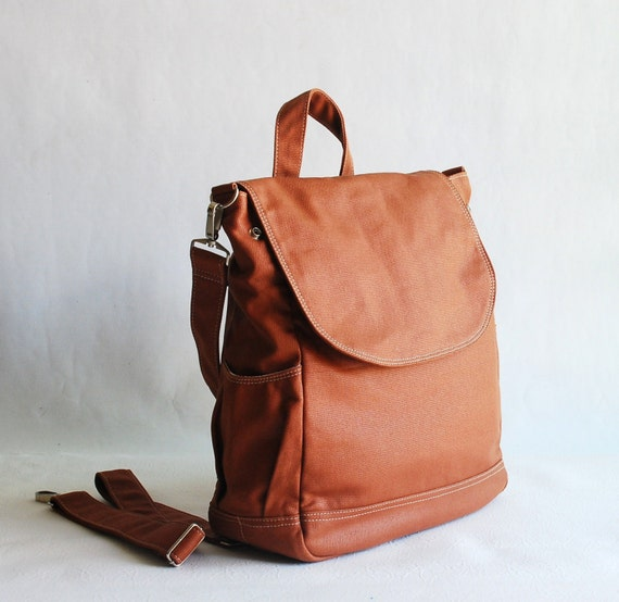 Fortuner Backpack in Wax Old Army Brown / Laptop / Shoulder Bag/ Diaper Bag/ Satchel / Rucksack / Messenger Bag / Tote / School Bag