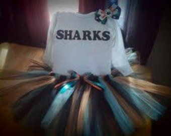 San Jose Sharks inspired tutu outfit