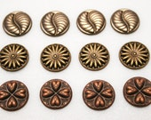 Push Pins or Magnets - Antiqued