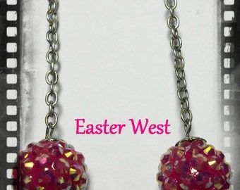 Pink blingalicious Earrings