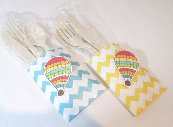 Baby Shower Favors Hot Air Balloons ~ Hot air balloon favors favor bags birthday
