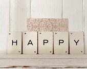 Vintage HAPPY cards