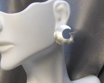 Vintage NY Designer Donna Dale Sterling Earrings