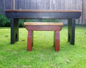The Lil' Bench - Handmade Child's Bench Made with Reclaimed Wood by Arcadian Cottage