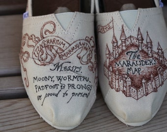 Marauder's Map TOMS: Custom