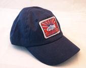 Youth size Navy logo fly fishing cap