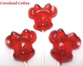 12 FEMALE MOUSE LOLLIPOPS - Pick Any Color and Flavor