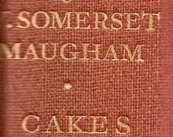 Cakes and Ale by Somerset Maugham 1935 - The Glamourist - SALE