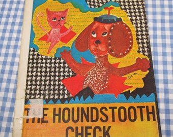 the houndstooth check, vintage 1972 children's book