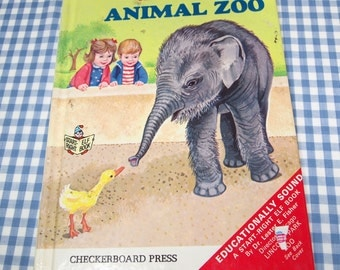 the baby animal zoo, vintage 1971 children's book