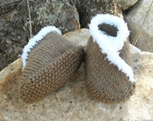INSTANT DOWNLOAD pattern for baby kimono moccasin shoes/slippers