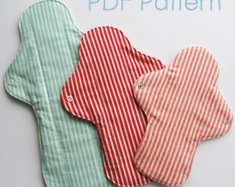 Cloth Pads Sewing Pattern (Instand download)