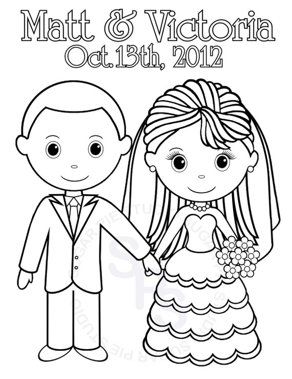 coloring pages of a groom - photo#25