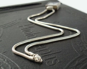 16 inch Sterling Snake Chain with Lobster Clasp
