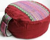 Meditation Cushion Yoga Cushion Shiva  ZAFU  & POUF ORIGINAL
