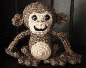 PATTERN: Crochet Amagurumi Monkey