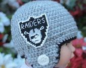"CUSTOM Football Helmet - Newborn size 11-14"" circumference  - crochet"