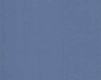 30s Sea - 9900-138 Bella Solid Fabric Collection by Moda Fabrics - 1 yard