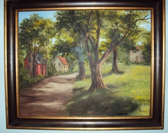 Landscape Oil Painting 24 x 30   REDUCED