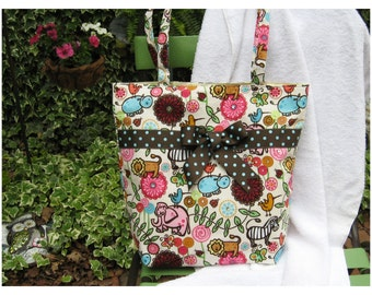 Fun Animal Printed Handbag