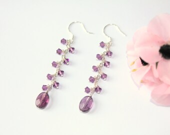 Purple Crystal Drops
