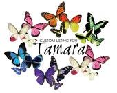 CUSTOM ORDER for Tamara