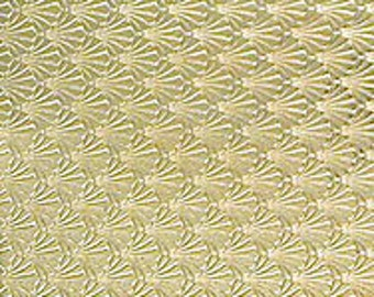 """Textured Brass Sheet 6"""" X 2.5"""" (Br57) Large Bracelet Size Texture Metal Use With Your Rolling Mill - 24 Gauge - Jewelry Metal Emboss Metal"""
