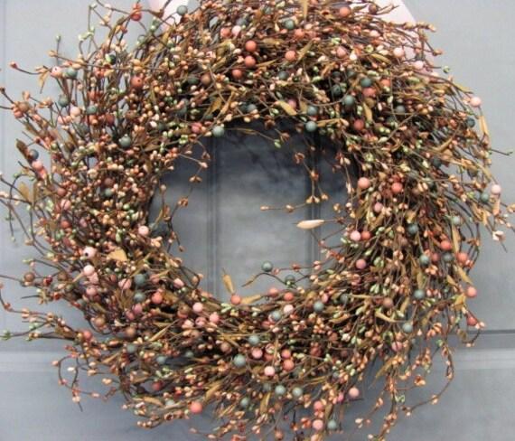 Sale Sale Sale Summer Wreath Primitive Home Decor