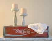 Vintage Red Coca-Cola Crate